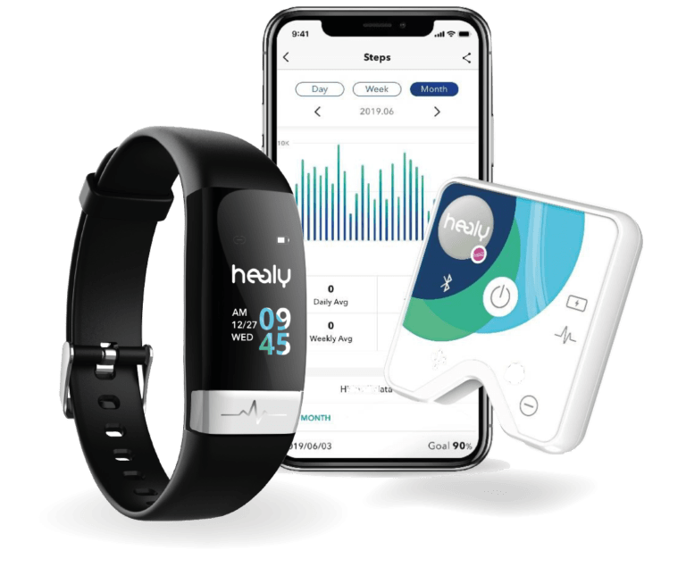 Écrans Bien être , BRA et Entrainement - Tutoriel - Healy Watch Application Healy Watch Healy watch et applications