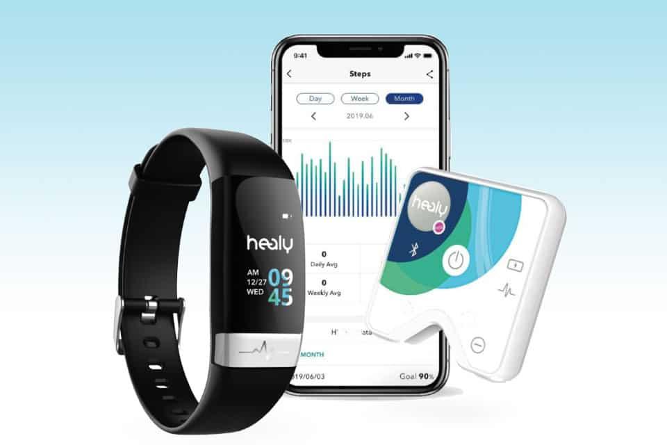 Healy Watch - Plage de fréquence cardiaque