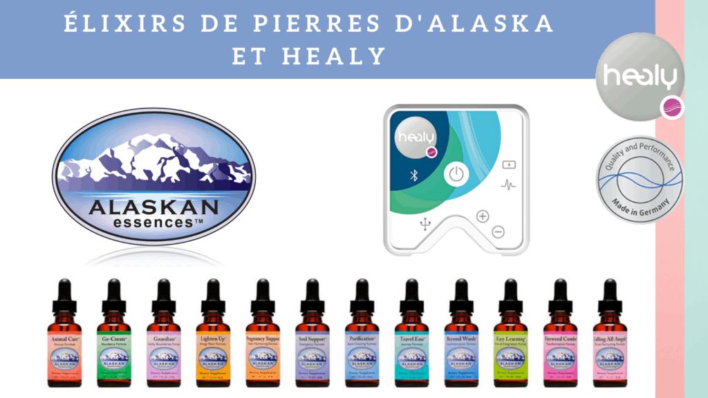 Élixirs de pierres d'Alaska et Healy