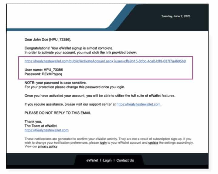 Vous recevrez l'e-mail d'activation pendant que le guide vidéo est en cours de lecture. Après avoir entré votre nom d'utilisateur et votre mot de passe, le lien vous amènera automatiquement au formulaire d'inscription.