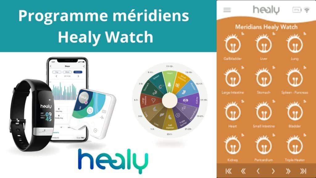 Programme méridiens de la Healy Watch